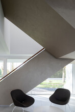Staircase And Two Chairs