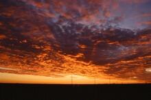 A Vibrant Texas Sunset