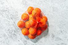 Orange Bag Of Satsuma Orange O...