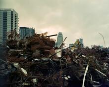A Building Under Demolation.