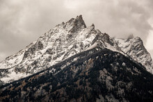 Snow Covered Mountian Peaks