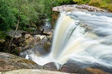 Beautiful Forest Waterfall Tha...