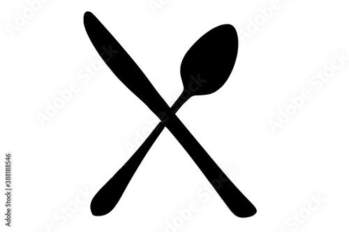 Tablou Canvas ナイフとフォーク