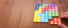 Image Of Tangram Puzzle Blocks...