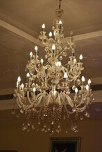 Chandelier On The Ceiling