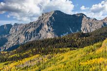Beautiful Autumn Color In The San Juan Mountains Of Colorado.