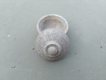 Single Stone Cut And Carved Si...