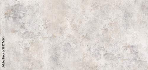White marble background.Grey cement background. Wall texture