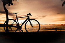 Bicycle Silhouette Image Parke...