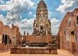 Wat Ratchaburana in Ayuthaya Thailand