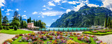 Fototapeta Miasto - Garda lake - Riva del Garda