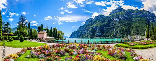 Obraz na plátně Garda lake - Riva del Garda