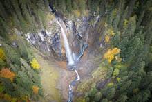 Pochtenfall Waterfall In Switz...