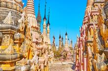 The Ancient Kakku Pagodas, Mya...