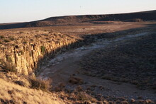 Dry Riverbed In The Karoo At S...