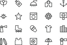 Holiday Vector Line Icons