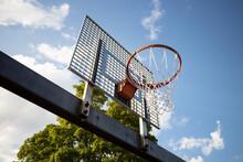 An Outdoor Basketball Net