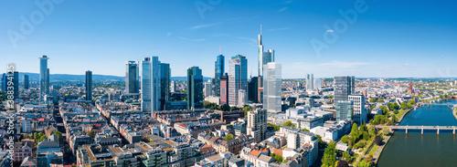Canvas Frankfurt am Main Cityscape