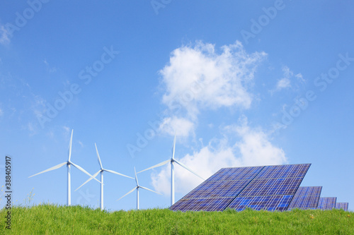 Canvastavla 草原と再生可能エネルギー