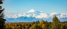 Panoramic View Of Denali Mount...