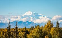 Panoramic View Of Denali Mount...