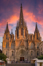 Gothic Cathedral Of The Holy C...