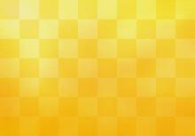 市松模様正月背景和風和柄金色金屏風格子柄背景テクスチャ