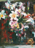 still life with lilies. copy - 388461976