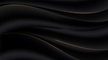 Black Gradient Abstract Golden...