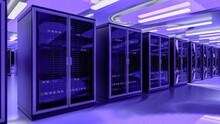 Server Room Data Center. Backu...