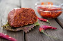 Spicy Salami Called Nduja Typi...