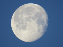 Moon In The Morning Sky