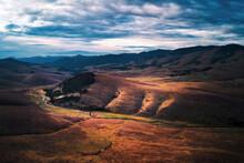 Barren Landscape Of Zlatibor M...