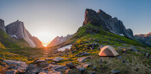 Wild Camping In The Lofoten Is...