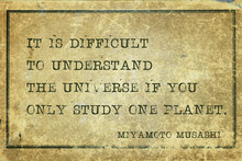 Study One Planet Musashi