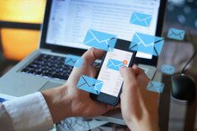 Email Marketing Concept, Perso...