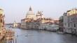 Empty grand canal, Venice, Italy