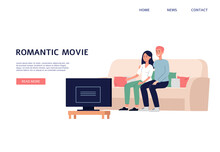 Web Landing Page With Couple W...