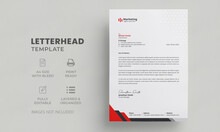 Letterhead Template | Editable Letterhead Design