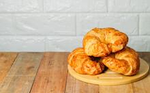 Three Homemade Croissants Are ...