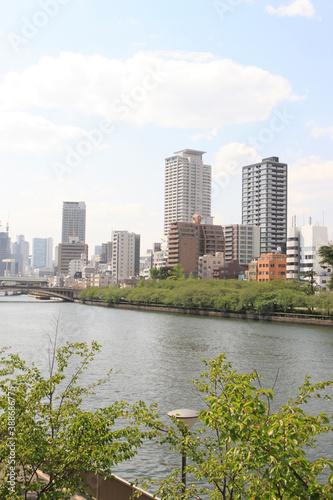 天満橋からの風景 © Paylessimages