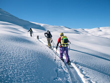 Active People Ski Touring On M...