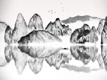 Chinese Traditional Landscape ...
