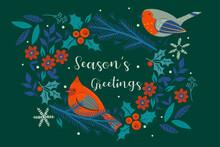Season's Greetings . Christmas...