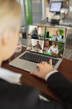 Meeting Online, Job Or Educati...