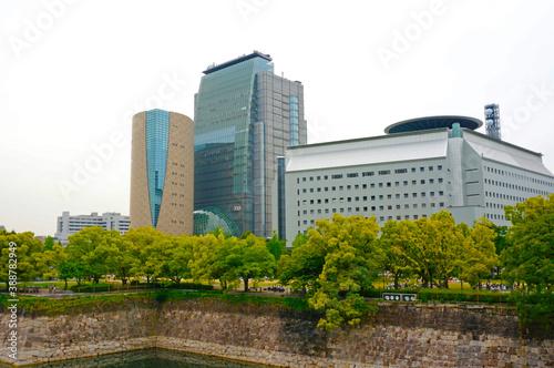 Fotografering NHK,大阪放送局と大阪府警察本部