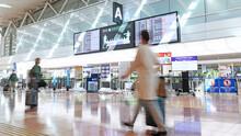 コロナ禍で閑散とする東京・羽田空港 / Departure Floor In Tokyo Haneda International Airport