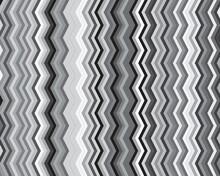 Seamless Zigzag Pattern, Gray ...