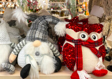 Elves Soft Toys Are On The She...
