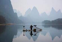 Chinese Traditional Fisherman ...